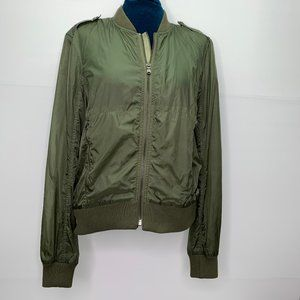 Ralph Lauren RLX Windbreaker Jacket Small Green Lightweight